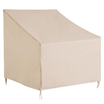 Outsunny 600D Oxford Cloth Furniture Cover Single Chair Garden Patio Outdoor Protector Waterproof L68*W87*H44-77cm