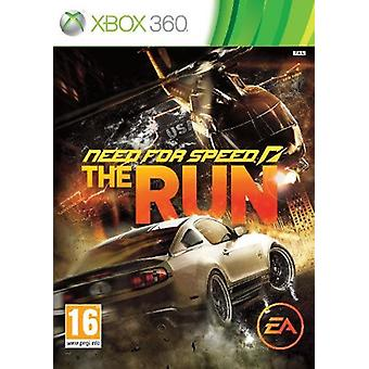 Need for Speed The Run Xbox 360 Game