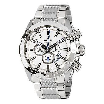 Festina watch watches Mr chronograph XL analog F16488-1