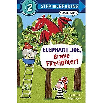 Elefant Joe, mutigen Feuerwehrmann! (Einzelschritt Lesung)
