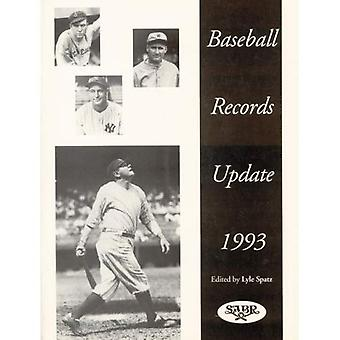 Baseball Records Update 1993