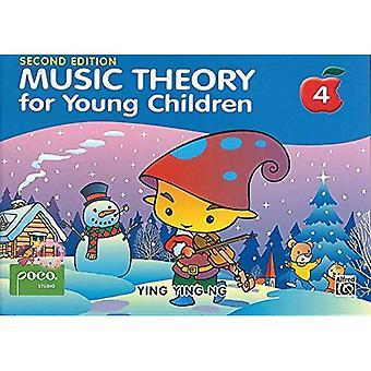 Teoria musicale per i bambini piccoli di prenotare 4 seconda edizione
