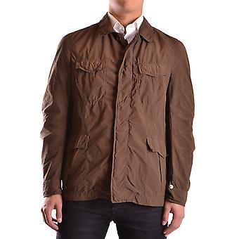 Aspesi Ezbc067028 Men's Brown Polyester Outerwear Jacket