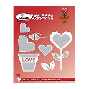 By Lene Love Flower Cutting & Embossing Die