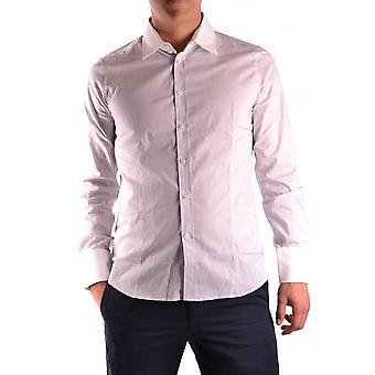 Gazzarrini Ezbc204001 Men's White Cotton Shirt
