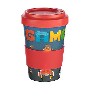 Puckator Game Over Travel Mug