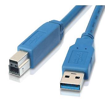 USB 3.0 طابعة كابل 2M - نوع ذكر واحد إلى نوع B ذكر