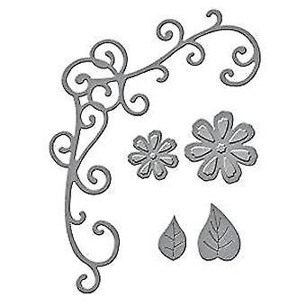 Spellbinders Flower And Vine Die D-Lites