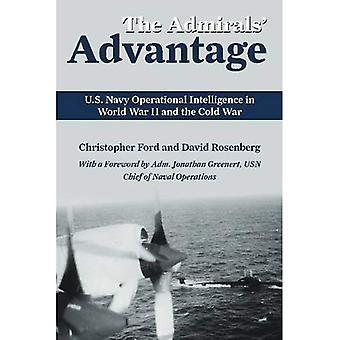 Ventaja de los almirantes: U.S. Navy inteligencia operacional en la II Guerra Mundial y la guerra fría