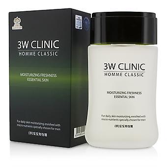 3W Klinik Homme Classic - frische ätherische feuchtigkeitsspendende Haut 150ml / 5oz