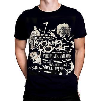 Bornrock - scary - my chemical romance t-shirt