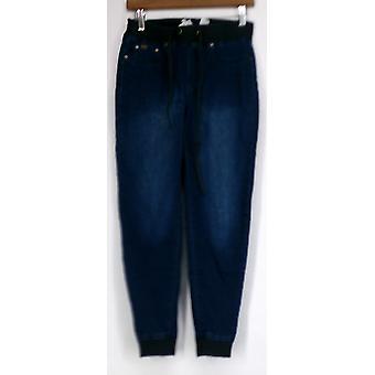 Diane Gilman Jeans Super Stretch Easy Jegging Blue Womens 421-054