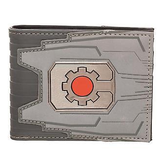 Wallet - Cyborg - Chrome Weld Patch Bi-fold New mw65z2jla