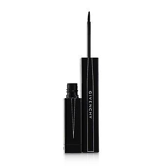 Givenchy Fenomen & silmät Brush Tip Eyeliner - # 07 Vinyyli Musta - 3ml / 0.1oz