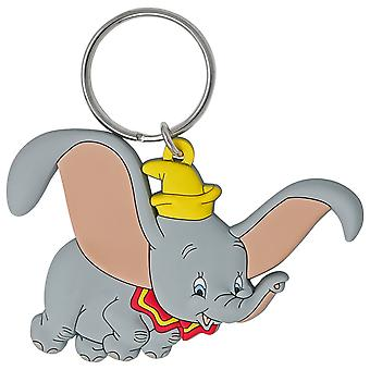 Dumbo Soft Touch Keychain