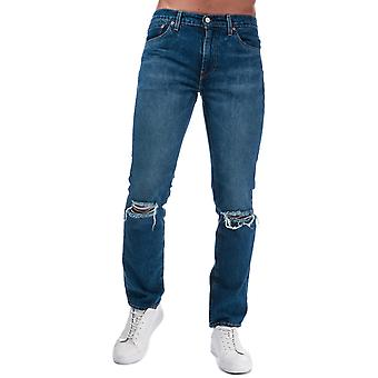 Mens Levis 511 Slim jeans i denim-zip fly-fem Pocket design-kontrast