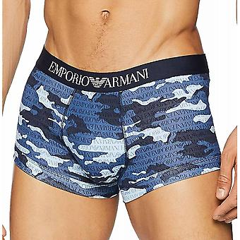 Emporio Armani camouflage print kofferbak, Marine Camou, kleine
