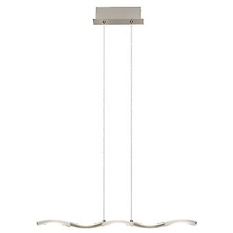 BRILLIANT lamp SURF LED pendant lamp 5flg iron Adjustable in height / Cable can be shortened I Infinitely dimmable over wall dimmer