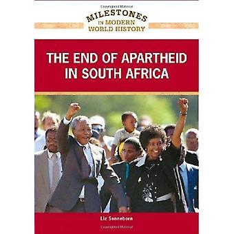 Slutningen af apartheid i Sydafrika (milepæle i den moderne verdens historie)