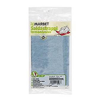 Marbet MB120.196 | Cotton Mending Fabric | Iron-On | 40 x 15cm | French Denim