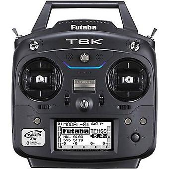 Futaba T6K V2 Handheld RC 2,4 GHz No. of channels: 8 Incl. receiver