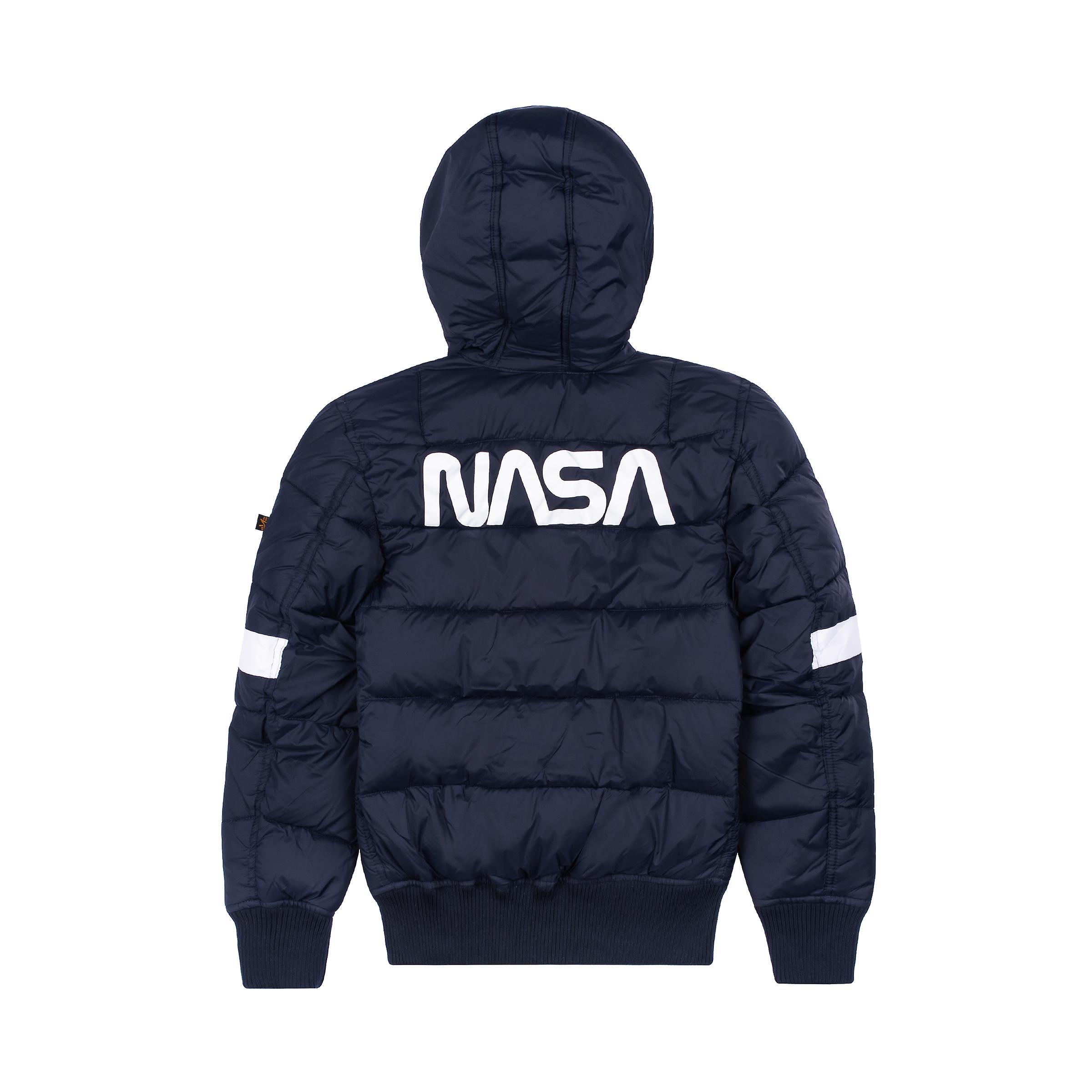 Alpha Industries Kids Kurtka zimowa Hooded Buffer FD NASA