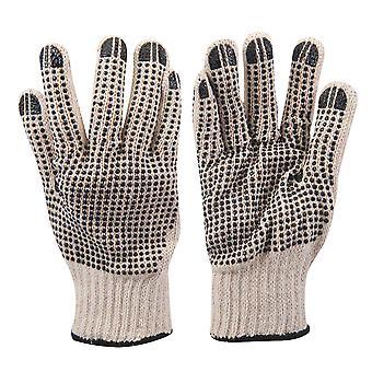 Dubbelzijdige dot handschoenen-L 10