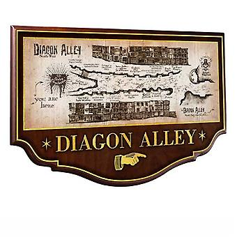 Diagon Alley Sign from Harry Potter and The Chamber Of Secrets
