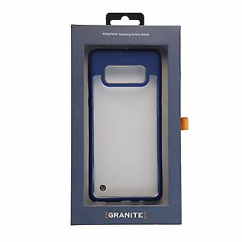 Granite Mono Case for Samsung Galaxy Note 8 - Clear/Navy Blue