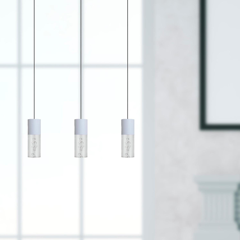 Lyra A 3 Mini Pendant Lighting White