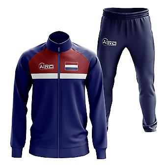 Paesi Bassi Concept Football Tracksuit (Navy)