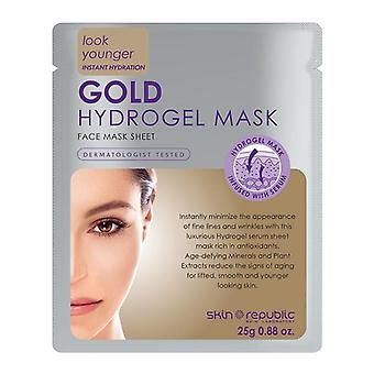 Skin republic gold hydrogel face mask 25ml