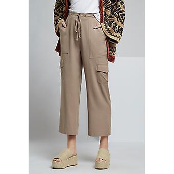 Louche Neil Soft Utility Trouser Khaki