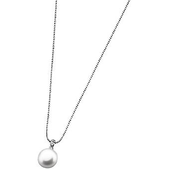Necklace and pendant Lotus Style LP1278-1-3 - necklace and pendant silver classic woman