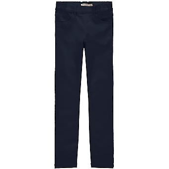 Jméno-It Girls Tmavě modré Skinny Kalhoty Tinna