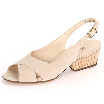 Peter Kaiser Este Sand Sabbia Wildleder Thema 95729870 ellegant Sommer Damen Schuhe