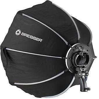 BRESSER Super Quick Schnellspann-Octabox 65cm für Kamerablitze