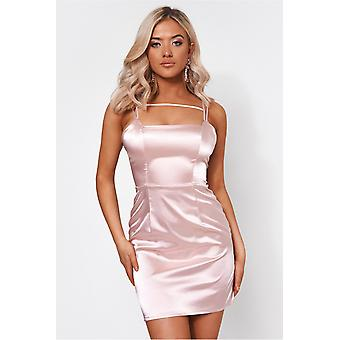 Dalia Satin Bodycon Dress