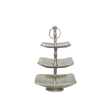 Light & Living Etagere 3 Layers 20x20x42cm Tonder Raw Nickel