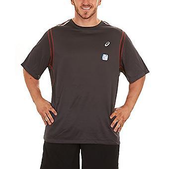 ASICS Jikko Short-Sleeve Tee (X-Large, Dark Grey), Dark Grey, Size X-Large
