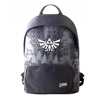 The Legend of Zelda Emblem Black Laptop Backpack