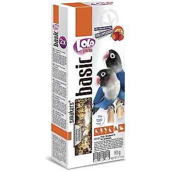 Lolo Lolo 2 Barritas Frutas 90 GrsAgapornis (Birds , Bird Treats)