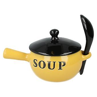 Lesser&Pavey Home Sweet Home Ceramic Soup Bowl LP24003