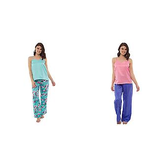 Wolf And Harte Ladies/Womens Floral Pyjama Set