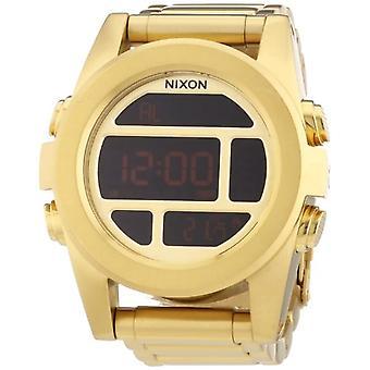 Nixon A360502-00--men's wristwatch, steel, color: Gold