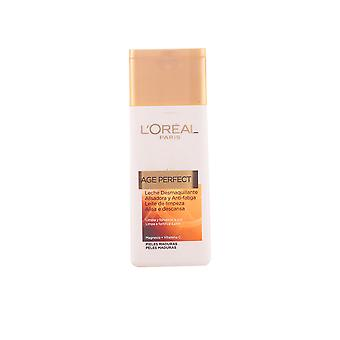 L ' Oréal Make-up Alter perfekte Leche Desmaquillante Piel Madura 200 Ml für Damen