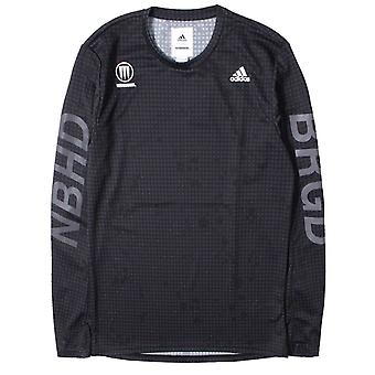 Adidas NBHD Compression Long Sleve Logo Black T-Shirt