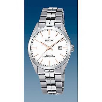 Festina - Wristwatch - Uomini - F20437/A - Steel Strap Classic