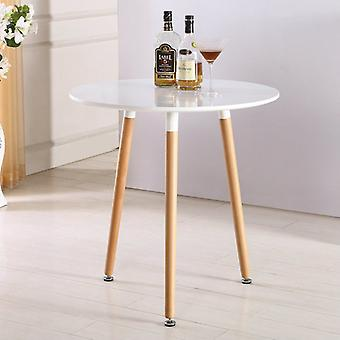 Eiffel Inspired Halo Table Round - White - Medium