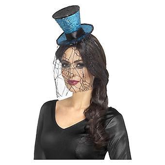 Mini Gothic Top Hat on Headband
